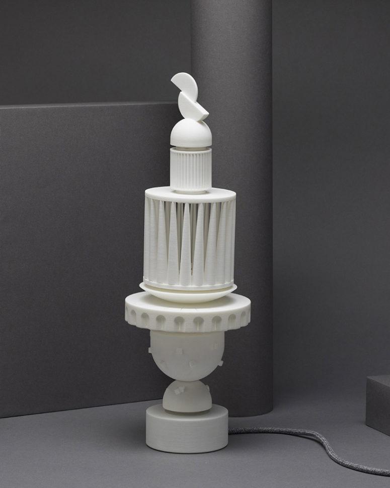 the Column lamp