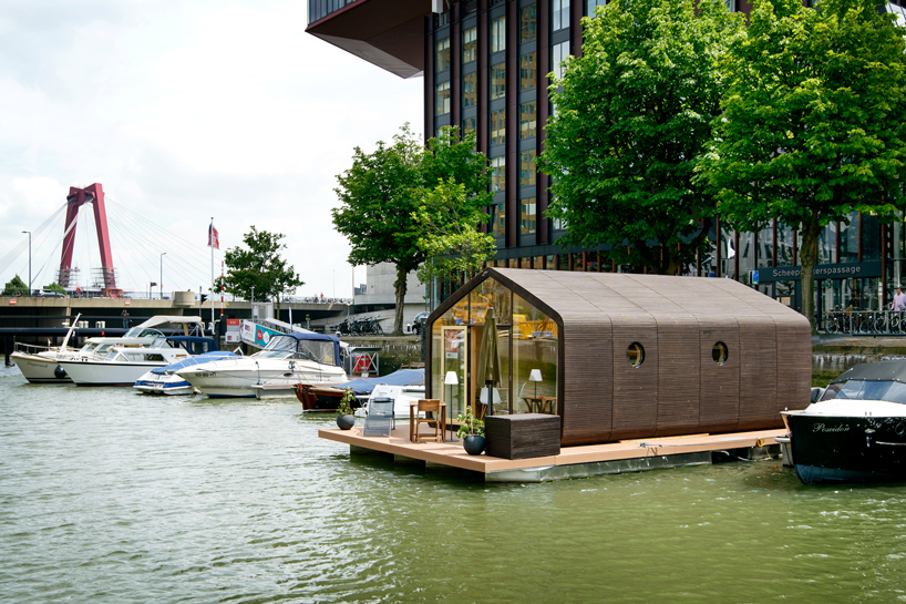 You can even order a floating Wikkelhouse if you want