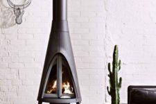 free-standing stove