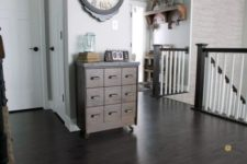 13 IKEA Rast hack into a chic apothecary cabinet on casters – go for a cool and easy DIY
