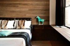 stylish wooden headboard