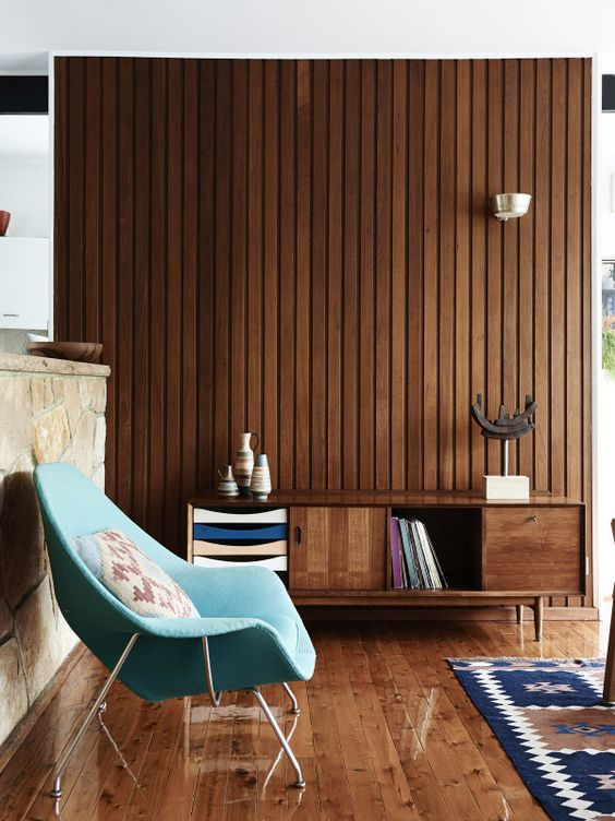 25 Inviting Living Rooms With Wood Walls Digsdigs
