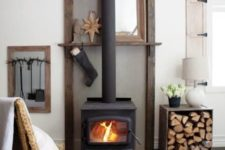 14 such a free-standing stove and some firewood next to it is sure to make any space cozier