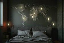 sexy moody bedroom design