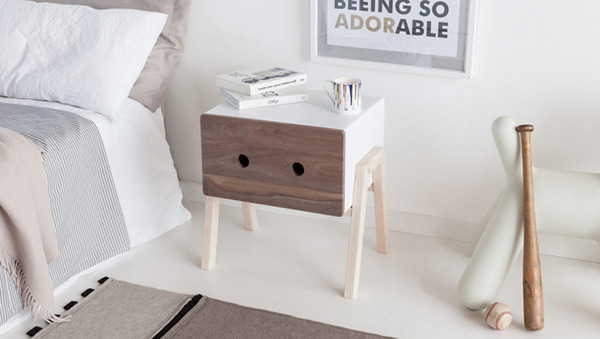 Ottone bedside table by Formabilio (via www.yankodesign.com)