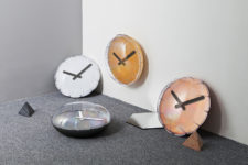 01 Balloon Clock looks super fun and whimsy, it has a clean 3D pop and looks chic and cute