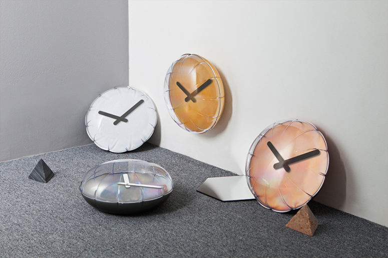 Playful And Fun Balloon Clock By Heartstorming