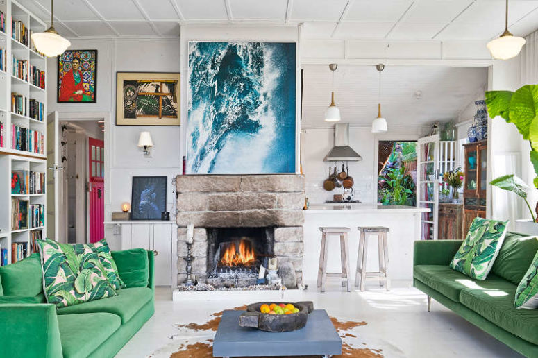 01-This-modern-home-is-full-of-fun-touches-and-colorful-details-perfect-for-modern-living Best House and Apartment Designs of November 2017