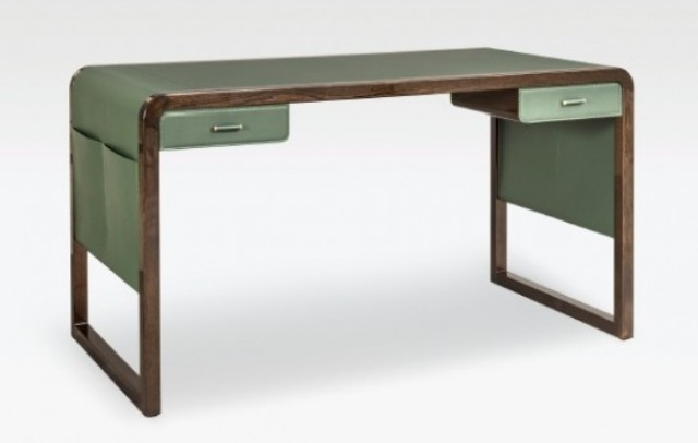 Such a stunning desk is ideal for a refined home office, a library, a foyer or any other space with an exquisite feel