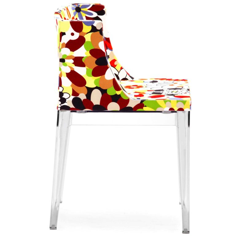 The eye-catchy shape of the chair makes it even more outstanding