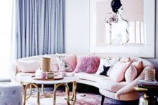 03 a cute space done with pink, blush and lilac shades for a girlish feel