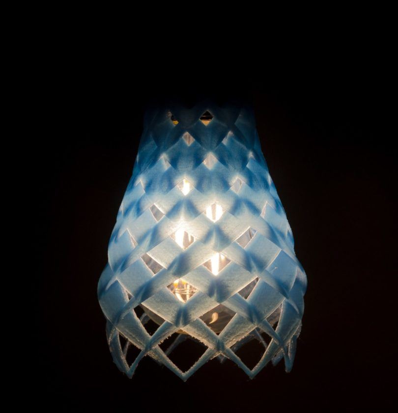 flora inspired lamp design