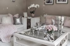 04 greys, creamy and pink work perfect for a glam girlish space