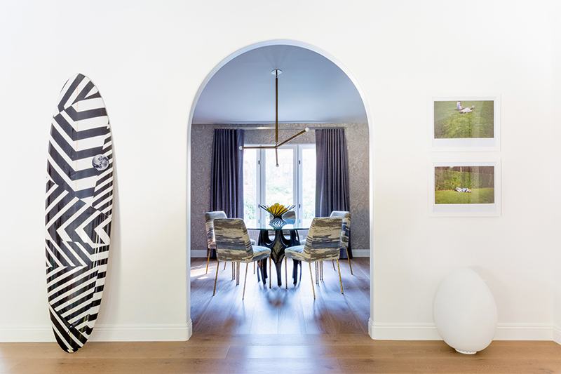 upholstered furniture for a dining room
