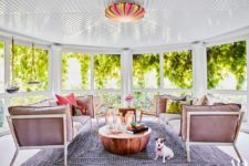stylish sunroom design