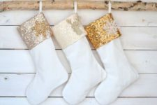 gorgeous stockings for christmas decor