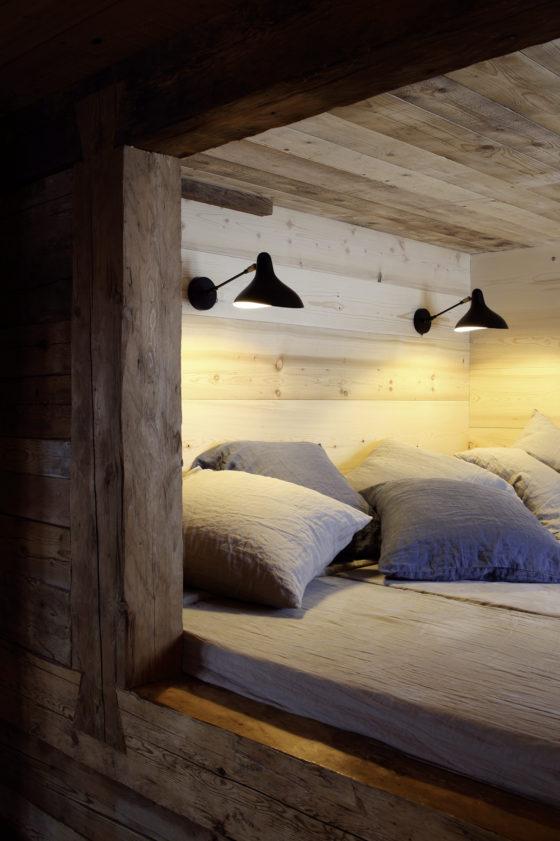 Mantis BS5 designed by Bernard Schottlander is the same as a floor lamp but a sconce version