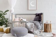 12 a functional crib that can be changed when your child grows up