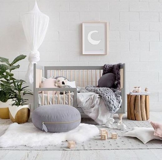 a functional crib that can be changed when your child grows up