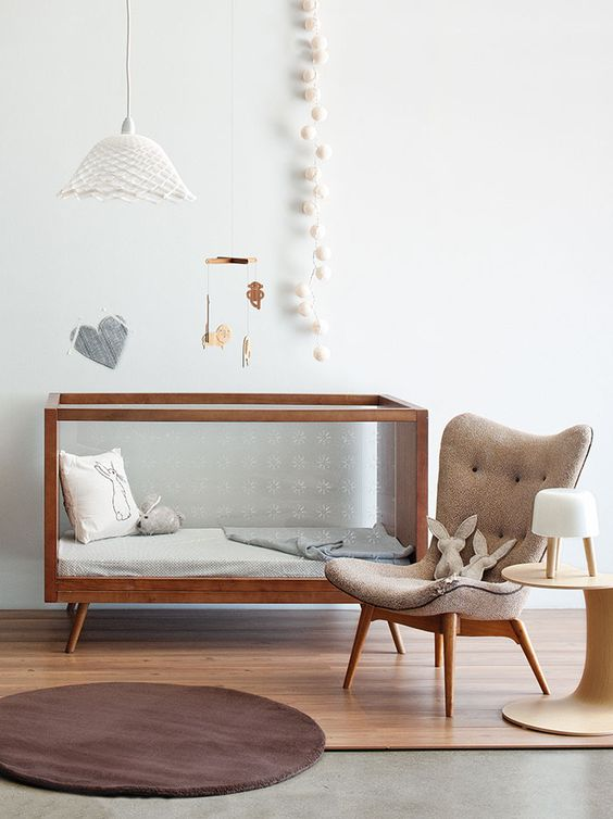 12-a-functional-crib-that-can-be-changed-when-your-child-grows-up 3 Tips And 25 Ideas For A Delightful Nursery