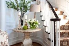 20 a small pedestal table in the entryway or an awkward corner is a cool idea for displays of any kind