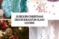 25 sequin christmas decor ideas for glam lovers cover