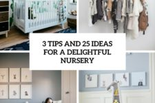 3 tips and 25 ideas for a delightful nursery cover