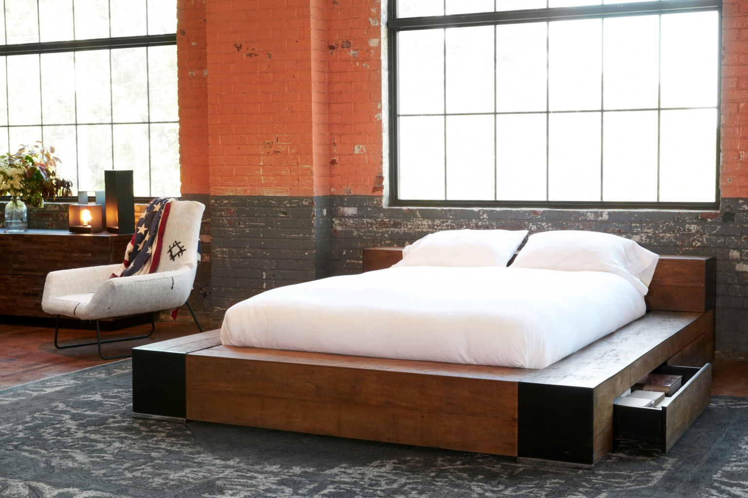 Edge Bed by Environment Furniture