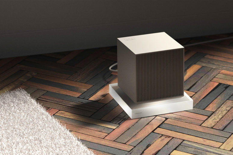 Stylish Cube Heater For Modern Spaces