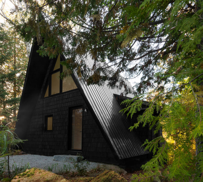 A-Frame House With Minimal Decor And An Airy Feel