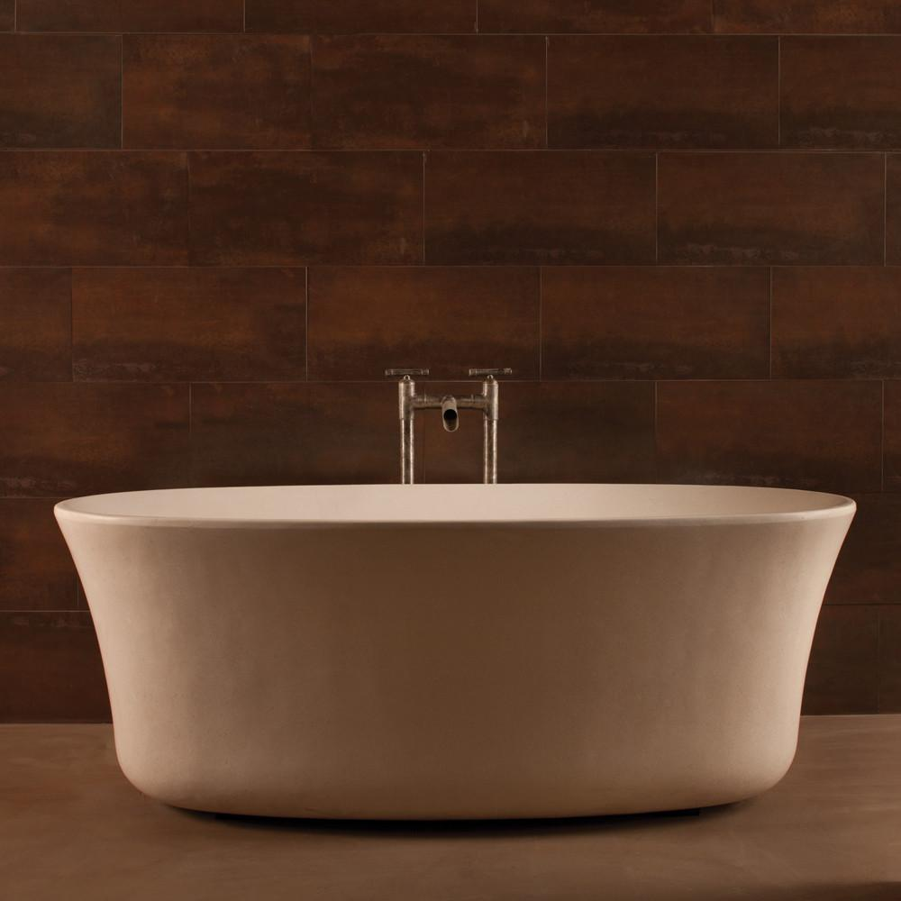 Its soft lines create a soothing effect and an elegant look allows to choose it for various styles of bathrooms
