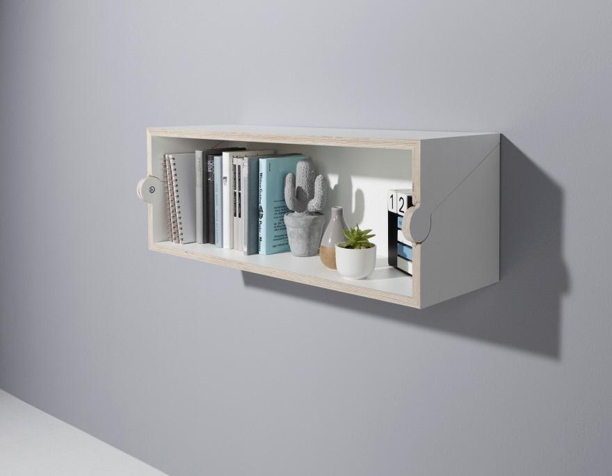 simple creative bookshelf