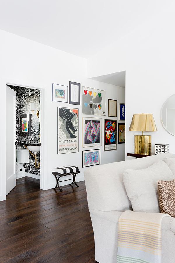 good looking gallery wall