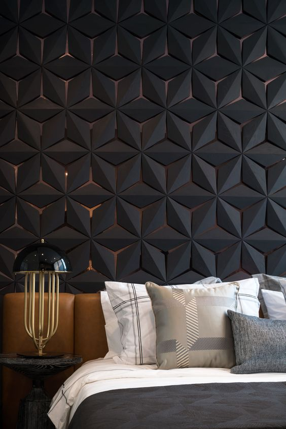 wall panels can be also sound-proofing ones to make your sleep more comfortable