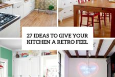 25 ideas to give your kitchen a retro feel cover