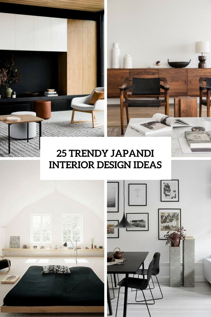 trendy japandi interior design ideas cover