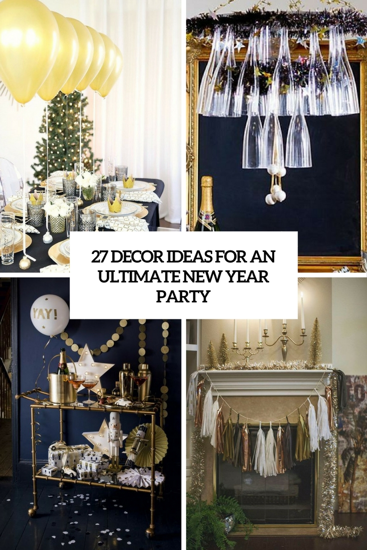 decor ideas for an ultimate new year party cover