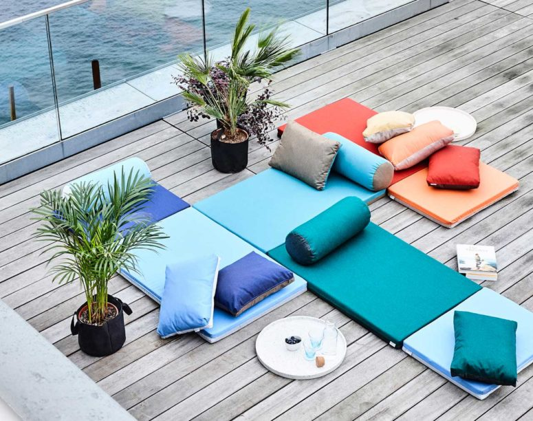 mattresses for outdoor decor