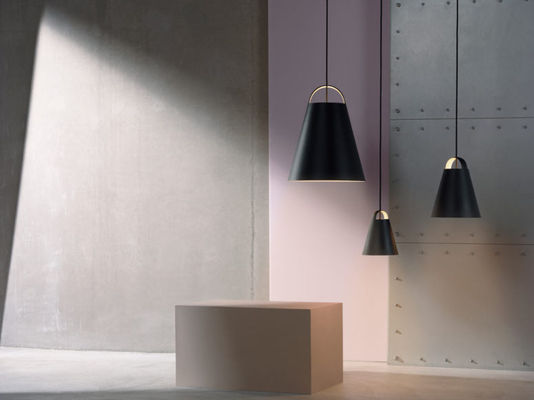 Above Pendant Lamp With An Organic Minimalist Shape
