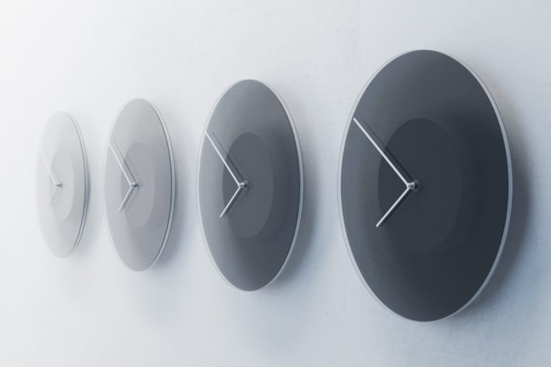 Dusk Clock Telling Time Through Tints