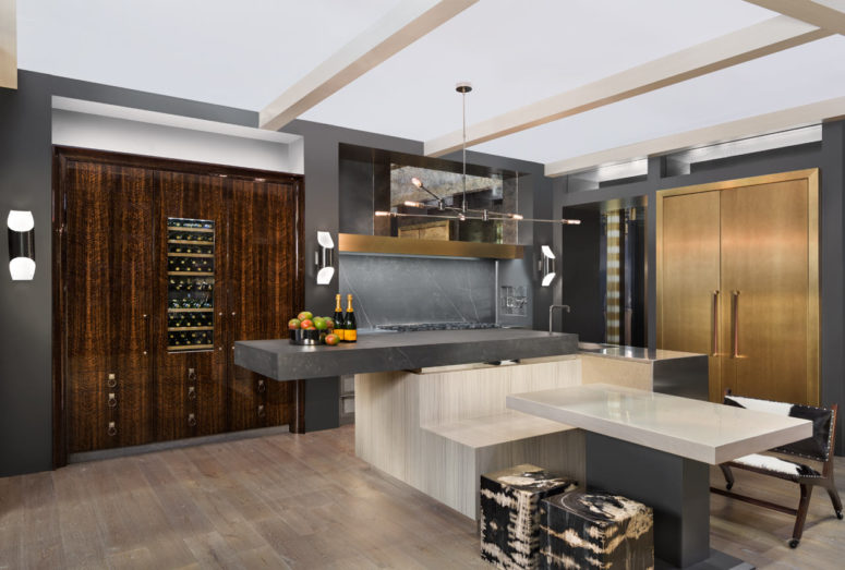 Monolith Inception Kitchen With Luxurious Design