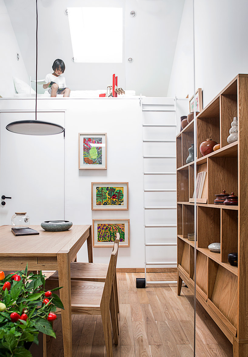 This small modern home in Beijing is a gorgeous example of the 'house in house' concept