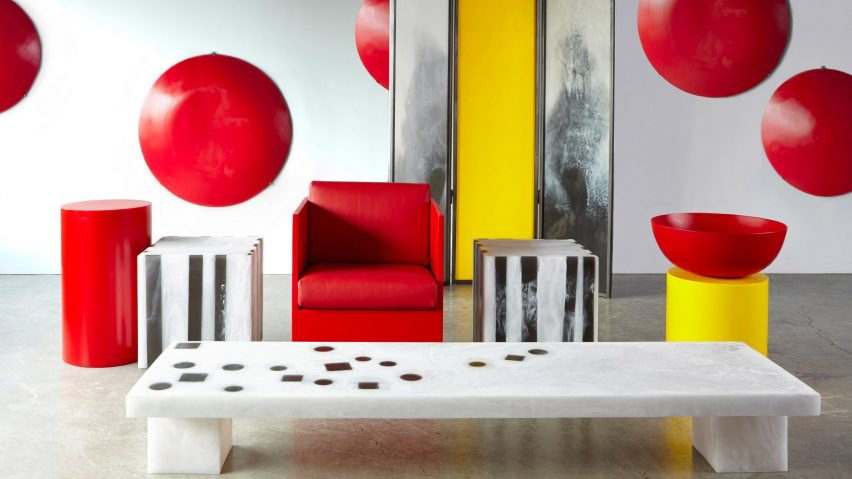 This super bold furniture collection is called Prime and is done in primary colors with bold and laconic shapes