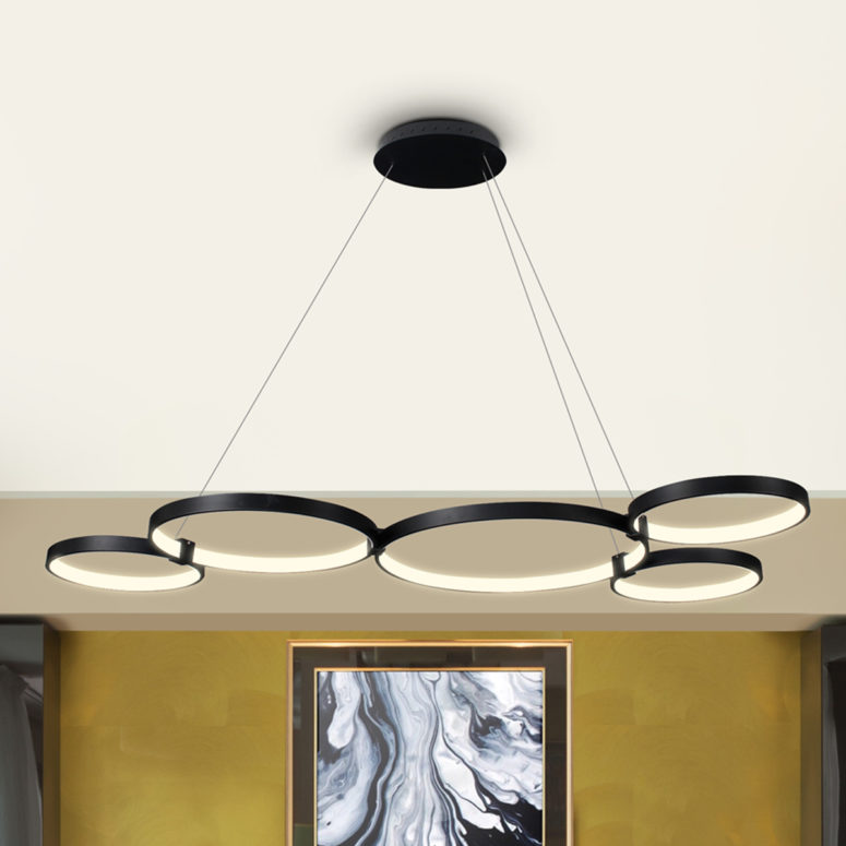 There are different options, from chandeliers to lamps, all of them can be tuned