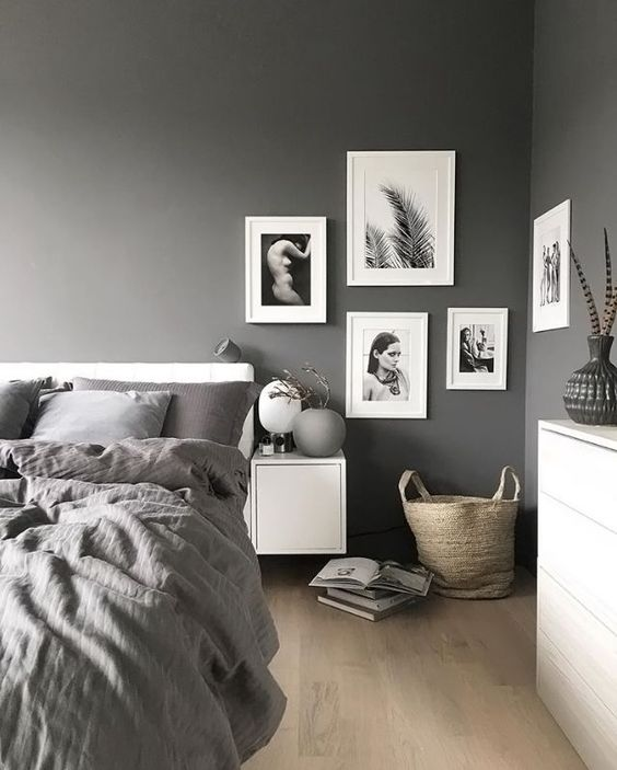 A Stylish Gallery Wall With Black And White Pics For A Monochrome Space