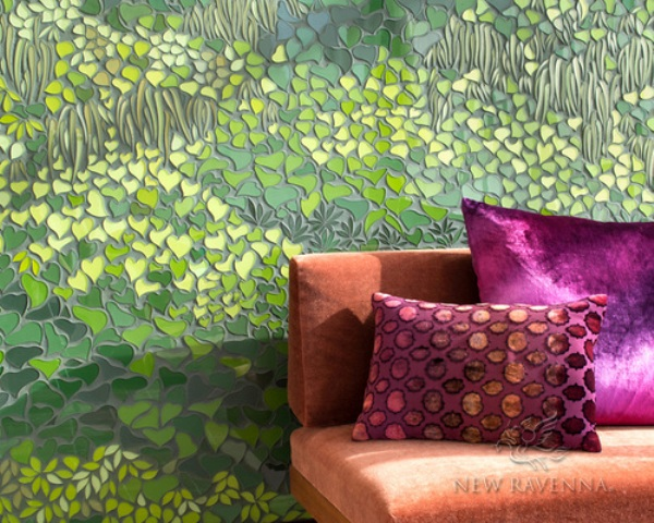 01-Living-Wall-mosaics-is-a-great-and-chic-alternative-to-real-living-wall-it-doesnt-require-maintaining-and-looks-very-cool Eye-Catchy Living Wall Alternative