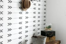 03 just one arrow print wall will add a cool boho and rustic feel to your space