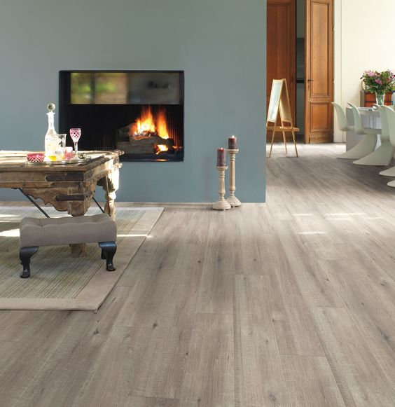 laminate is scratch and stain resistant plus it won't fade in the sunlight