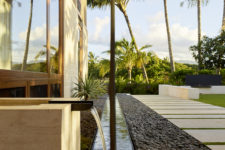 08 The outdoor spaces are perfectly styled too and create a united space with the indoor ones