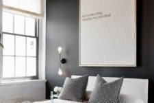 08 an oversized modern wall art will make a statement in the space